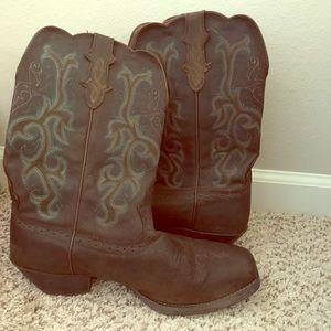 Justin women boots